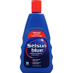 CHATTEM Selsun Blue Dandruff Shampoo - Medicated 11 fl.oz