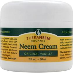 Theraneem Organix Neem Cream Original Vanilla 2 fl.oz