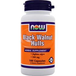 NOW Black Walnut Hulls (500mg) 100 caps