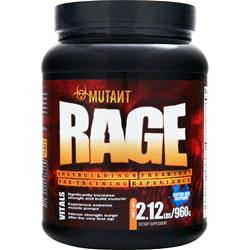 Fit Foods Mutant Rage Electric Blue Raspberry 2.12 lbs