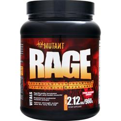 FIT FOODS Mutant Rage Xtreme Raspberry Lemonade 2.12 lbs