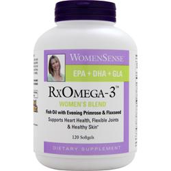 Natural Factors WomenSense RxOmega-3 Women's Blend 120 sgels
