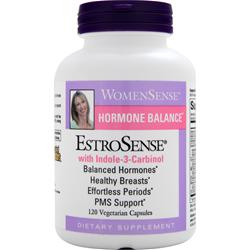 NATURAL FACTORS WomenSense Hormone Balance EstroSense with Indole-3-Carbinol 120 vcaps