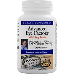 Natural Factors Advanced Eye Factors with 15mg Lutein 60 caps
