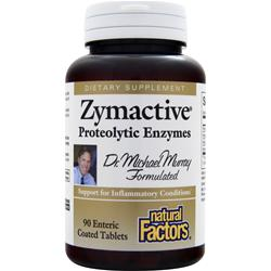 NATURAL FACTORS Zymactive Proteolytic Enzymes 90 tabs