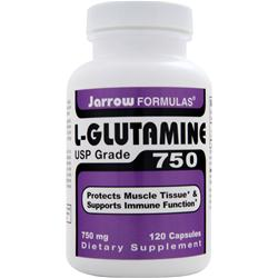 JARROW L-Glutamine 750 (USP Grade) 120 caps