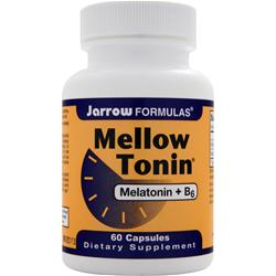 JARROW Mellow Tonin - Melatonin + B6 60 caps
