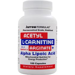 JARROW Acetyl L-Carnitine Arginate + Alpha Lipoic Acid 100 caps