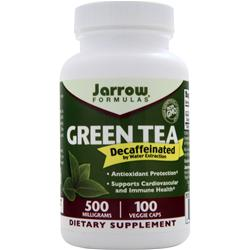 Jarrow Green Tea - Decaffeinated 100 vcaps