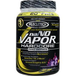 Muscletech naNO Vapor Hardcore Pro Series Powder Grape Rush 2.4 lbs