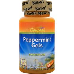 THOMPSON Peppermint Gels 30 sgels
