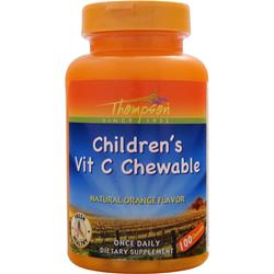 THOMPSON Children's Vit C Chewable 100 chews
