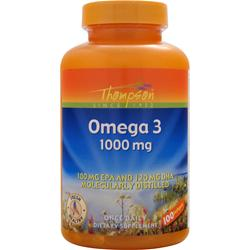 THOMPSON Omega 3 (1000mg) 100 sgels