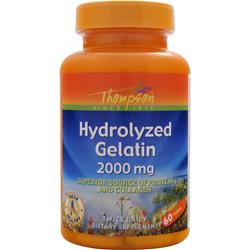THOMPSON Hydrolyzed Gelatin (2000mg) 60 tabs