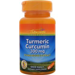 THOMPSON Turmeric Curcumin (300mg) 60 caps