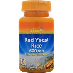 Thompson Red Yeast Rice (600mg) 60 vcaps