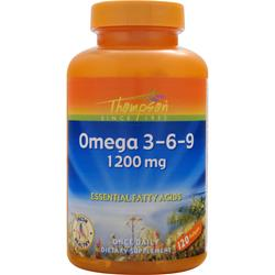 THOMPSON Omega 3-6-9 (1200mg) 120 sgels