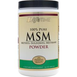 LIFETIME MSM Powder - 100% Pure 16 oz