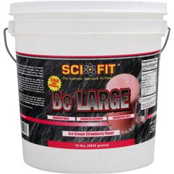 Sci-Fit Be Large Ice Cream Strawberry 10 lbs