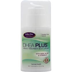 LIFE-FLO DHEA Plus - Highly Absorbent Body Cream 2 oz