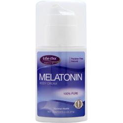 LIFE-FLO Melatonin Body Cream 2 oz