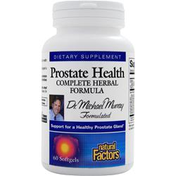 Natural Factors Prostate Health - Complete Herbal Formula 60 sgels