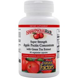 NATURAL FACTORS ApplePectinRich - Super Strength Apple Pectin Concentrate 90 vcaps