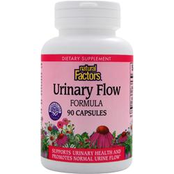 NATURAL FACTORS Urinary Flow Formula 90 caps