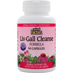 NATURAL FACTORS Liv-Gall Cleanse Formula 90 caps