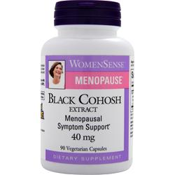 Natural Factors WomenSense Menopause - Black Cohosh Extract (40mg) 90 vcaps