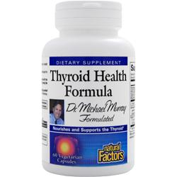 NATURAL FACTORS Thyroid Health Formula 60 vcaps