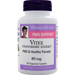 NATURAL FACTORS WomenSense PMS Support - Vitex Chasteberry Extract (80mg) 90 vcaps