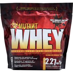 Fit Foods Mutant Whey - Extreme Multi Whey Mega Blend Triple Chocolate Eruption 5 lbs