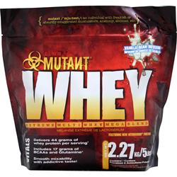Fit Foods Mutant Whey - Extreme Multi Whey Mega Blend Vanilla Bean Infusion 5 lbs