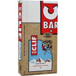 Clif Bar Clif Bar Coconut Chocolate Chip 12 bars
