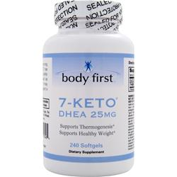 BODY FIRST 7-Keto (25mg) 240 sgels