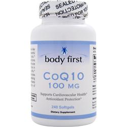Body First CoQ10 (100mg) 240 sgels