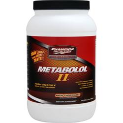 CHAMPION NUTRITION Metabolol II Chocolate 2.2 lbs