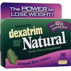 Chattem Dexatrim Natural - Green Tea Formula 30 caps