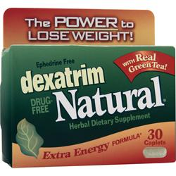 Chattem Dexatrim Natural - Extra Energy Formula 30 cplts