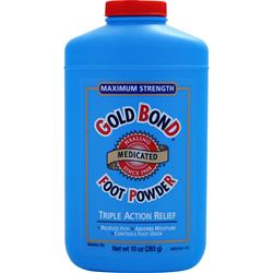 CHATTEM Gold Bond Foot Powder - Maximum Strength 10 oz