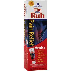 Natrabio The Arnica Rub 4 oz