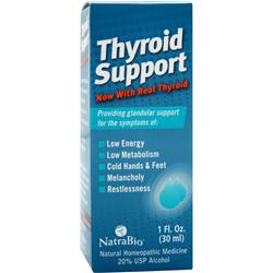 NATRABIO Thyroid Support 1 fl.oz