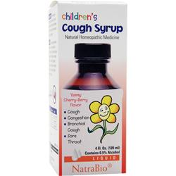 NATRABIO Children's Cough Syrup 4 fl.oz