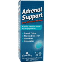 Natrabio Adrenal Support Liquid 1 fl.oz