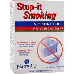NATRABIO Stop-It Smoking Nicotine Free 48 lzngs