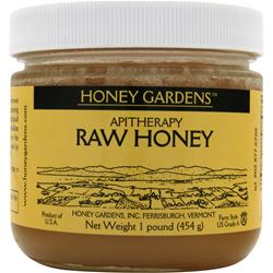 Honey Gardens Apitherapy Raw Honey 16 oz