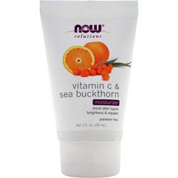 NOW Vitamin C & Sea Buckthorn Moisturizer 2 fl.oz