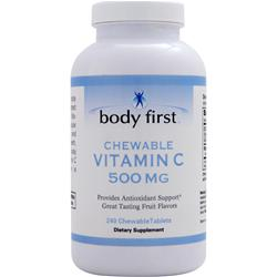BODY FIRST Chewable Vitamin C (500mg) 240 chews