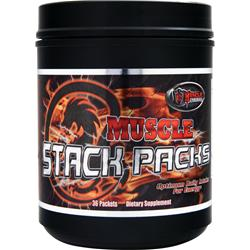 Muscle Fortress Muscle Stack Packs 36 pckts